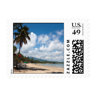 Luquillo Beach Puerto Rico Stamp
