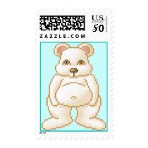 Lura's Critter Jelly Polar Bear Postage