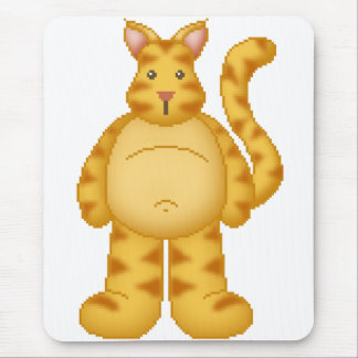 Lura's Critter Plump Kitty Mouse Pad