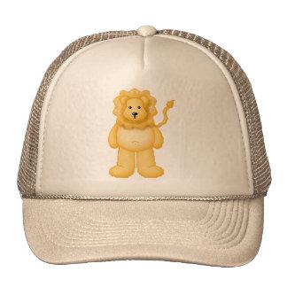 Lura's Critter Plump Lion Trucker Hat