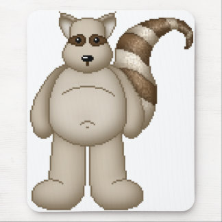 Lura's Critter Plump Raccoon Mouse Pad