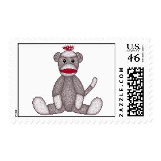 Lura's Sock Monkey Stamp