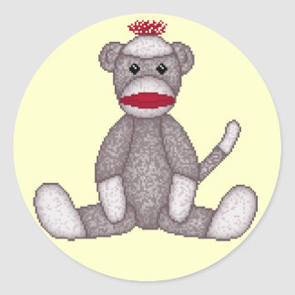 Lura's Sock Monkey Stickers