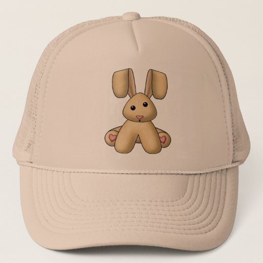 Lura's Stuffed Bunny Trucker Hat