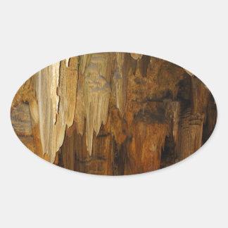 Luray Caverns Oval Sticker