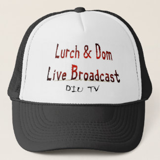 Lurch & Dom Live Broadcast Hat