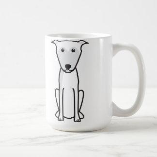 Lurcher Dog Cartoon Coffee Mug