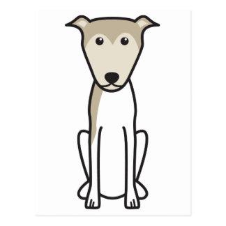 Lurcher Dog Cartoon Postcard