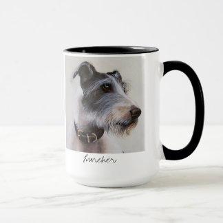 Lurcher Dog in Watercolour mug