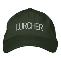 LURCHER EMBROIDERED BASEBALL HAT