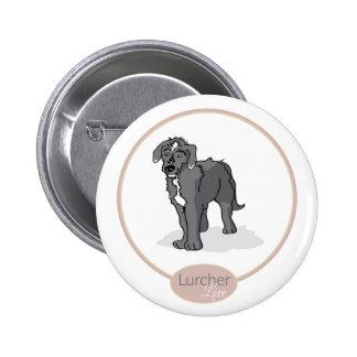 Lurcher Love Button