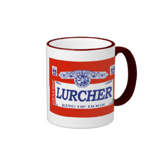Lurcher Ringer Coffee Mug