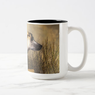 Lurcher Two-Tone Coffee Mug