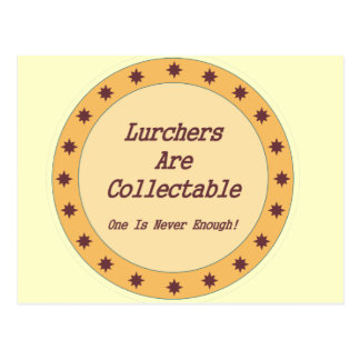 Lurchers Are Collectable Postcard