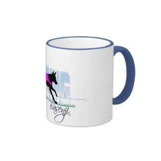 Lure Coursing Basenji Mug
