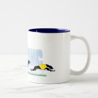 Lure Coursing Dogs Coffee Mug