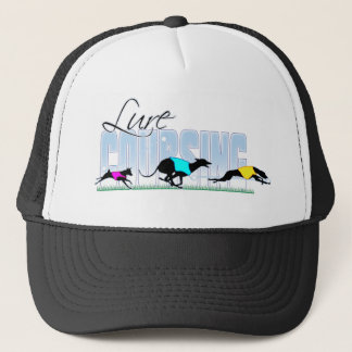 Lure Coursing Dogs Trucker Hat