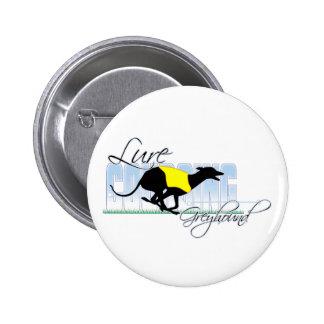 Lure Coursing Greyhound Pin