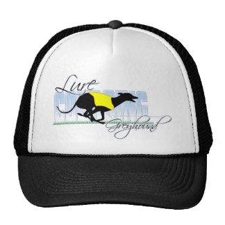 Lure Coursing Greyhound Hat