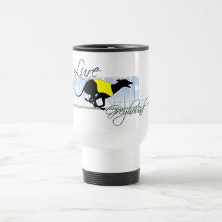 Lure Coursing Greyhound Coffee Mugs