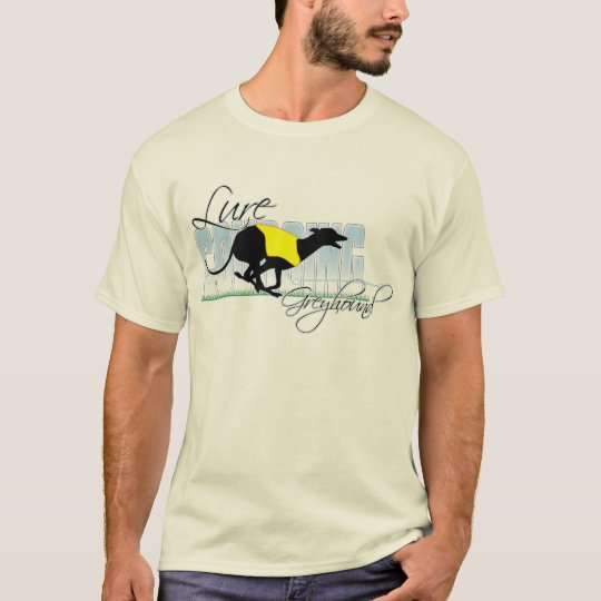 Lure Coursing Greyhound T-Shirt