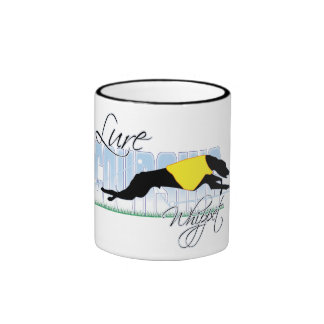 Lure Coursing Whippet Coffee Mugs