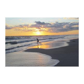 Lure of the Beach Canvas Print