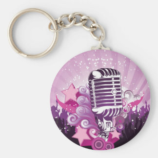 Lure of the Microphone Keychain