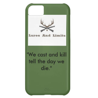 Lures and limits iPhone 5c case
