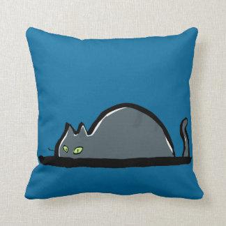 lurking cat pillows
