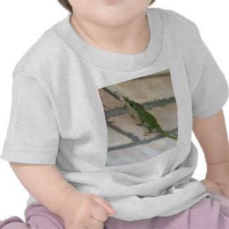 Lurking Green Lizard Tee Shirt