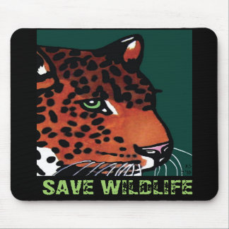 Lurking Jaguar Mousepad