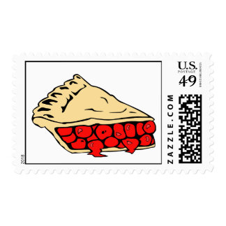 luscious cherry pie stamps