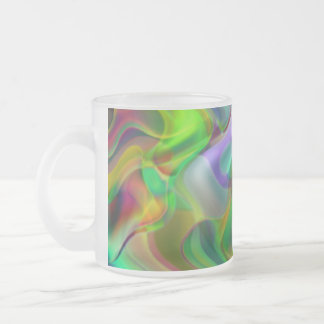Luscious Frosted Glass Coffee Mug