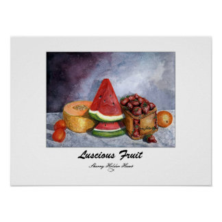 Luscious Fruit Print - Customized