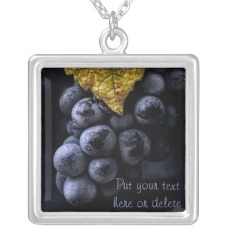 Luscious Grape Cluster Necklace