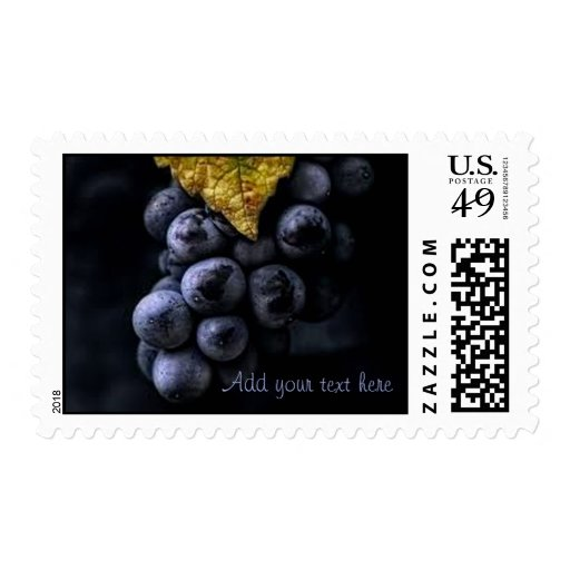 Luscious Grape Cluster U.S. Postage Stamps