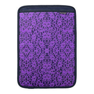 Luscious Lavender Purple Lace MacBook Air Sleeve