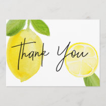 Luscious Lemon Thank You Card