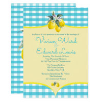 Luscious Lemon Wedding Invitations