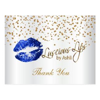 Luscious Lips - Thank you Postcard