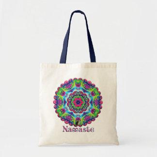 Luscious Namaste Kaleidoscope Budget Tote Bag
