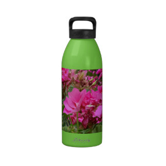 Luscious Pink Flowers by SHARLES Water Bottles