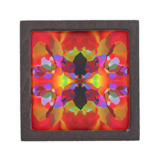 Luscious Red & Multicolored Premium Gift Box Premium Jewelry Boxes