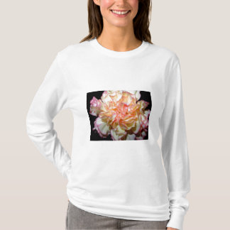 Lush and Gorgeous Pink and White Carnation T-Shirt