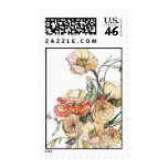 Lush Bouquet Postage Stamps