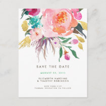 Lush Bouquet Wedding Save the Date