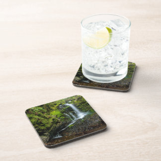 Lush California Waterfall Beverage Coaster
