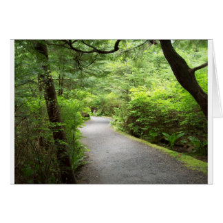 Lush Country Trail Greeting Card