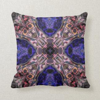 Lush Embroidery Throw Pillow